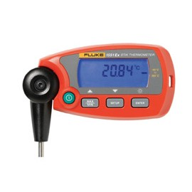 "FLUKE 1552A-12 STIK THERMOMETER, INTRINSICALLY SAFE, FIXED PRT, -80° TO 300°C OR -112°F TO 572°F TEMPERATURE RANGE, 0.25"" STEM DIAMETER, 12"" STEM LENGTH"